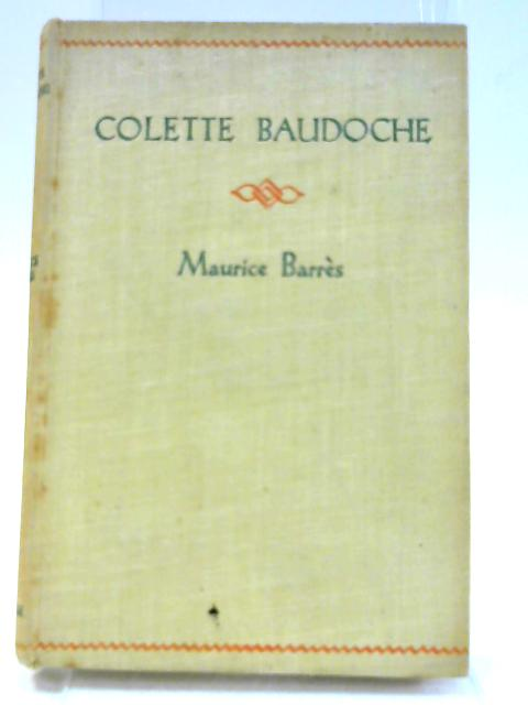 Collette Baudoche by Barres