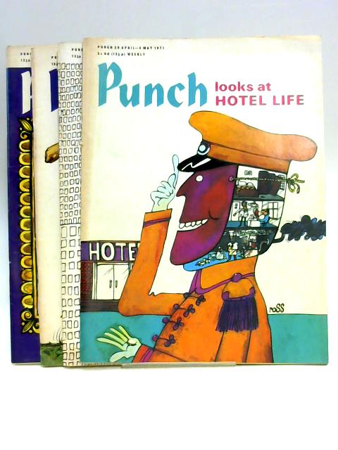 Punch May 1971 (4 x Issues) by Anon