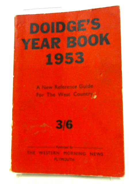 Doidge's Year Book 1953. by Various.