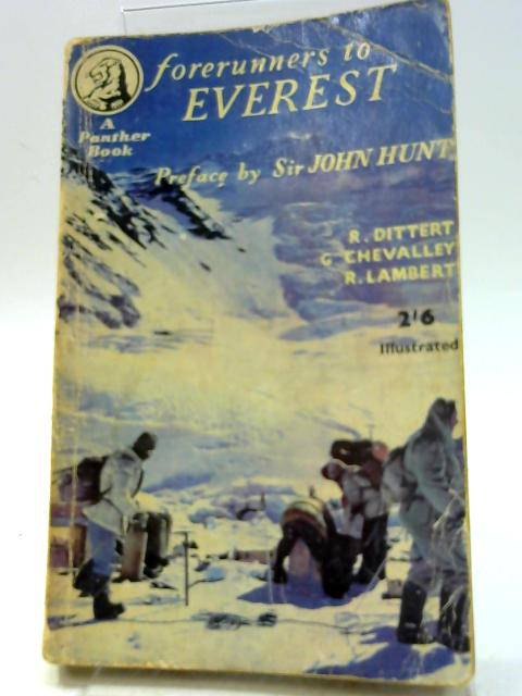 Forerunners to Everest (Panther Book. no. 591.) by Malcolm Barnes
