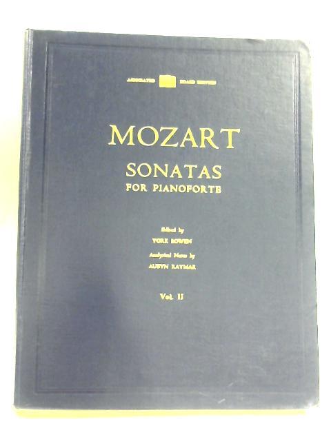 Mozart Sonatas For Pianoforte: Vol II by York Bowen (Editor)