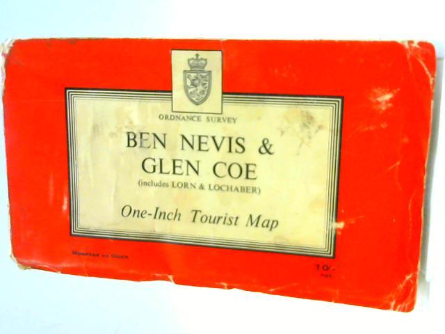 Lorn & Lochaber (Covers Oban to Ben Nevis) One-Inch Tourist Map by Ordnance Survey