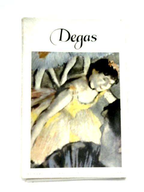 Edgar-Hilaire-Germain Degas (1834-1917) by Daniel Catton Rich