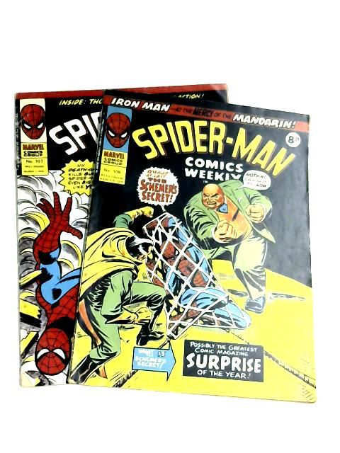 Spiderman Comics Weekly #107 & 108 by Anon
