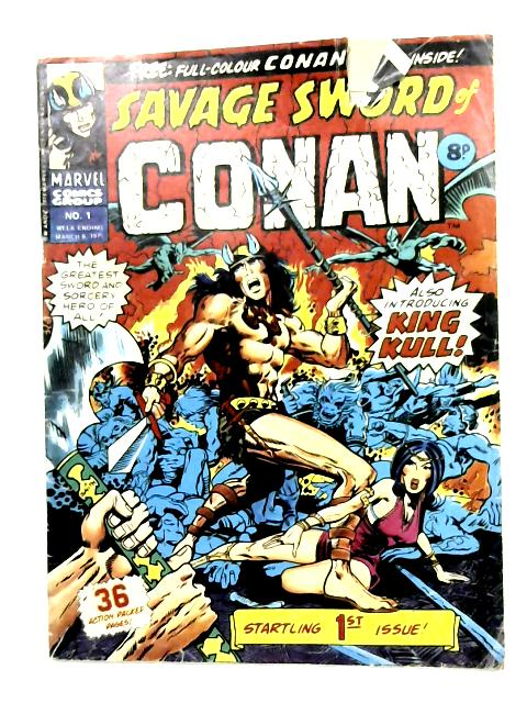 Savage Sword of Conan: Vol.1 March 1975 by Anon