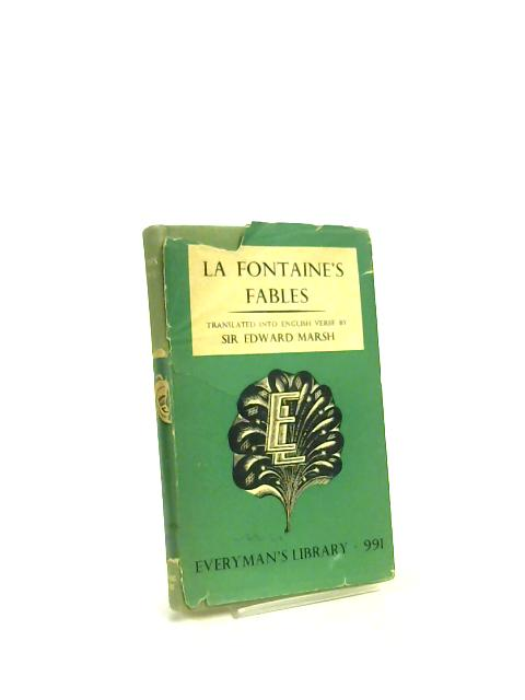 """La Fontaine""""s Fables by Sir Edward Marsh"""