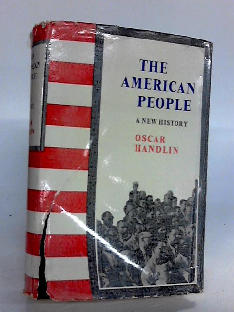The American People By Oscar handlin