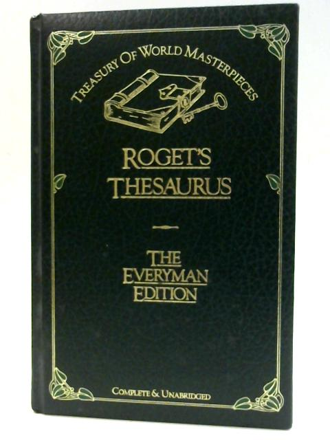 Rogets Thesaurus By Browning