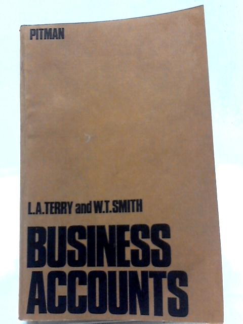 Business Accounts By Leslie Alfred Terry
