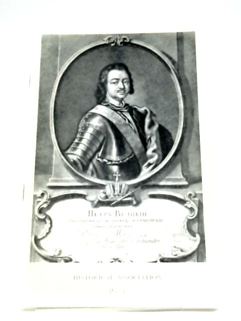 Peter The Great By M. S. Anderson