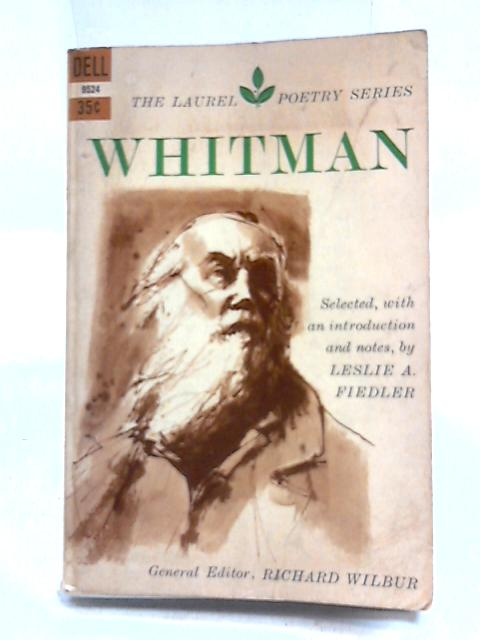 Whitman by Richard Wilbur