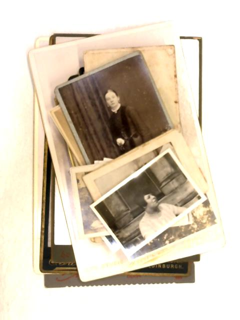 Set of Assorted Black and White Portrait Photographs By Unknown