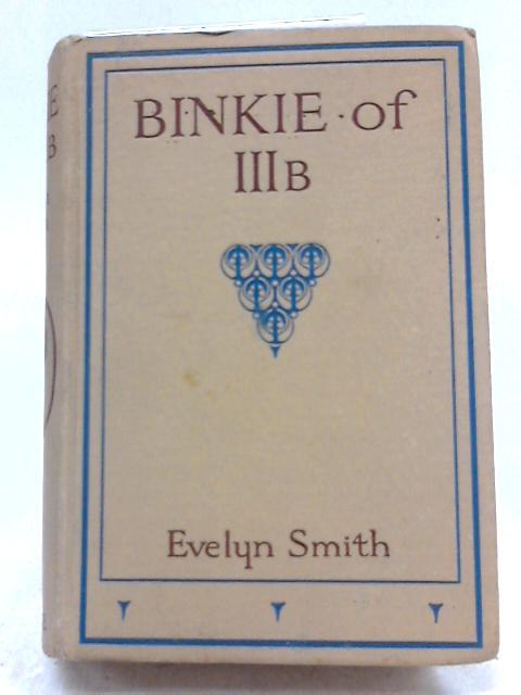 Binkie of IIIB by Eveln Smith
