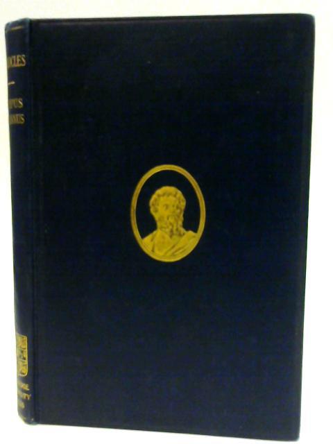 The Oedipus Tyrannus by Sir Richard Jebb