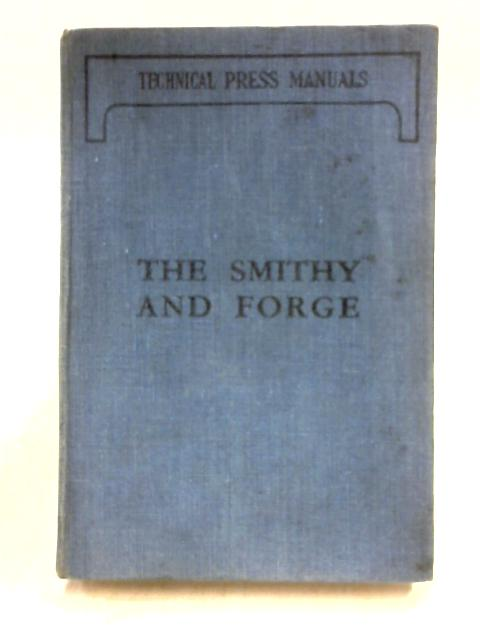 The Smithy and Forge by W.J.E. Crane