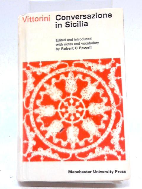 Conversazione in Sicilia (Italian Texts) by Elio Vittorini