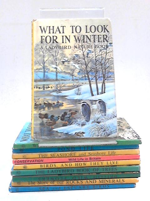 Collection of 10 Natural History Ladybird Books by Various