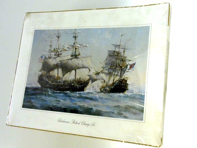 Reproduction of Bonhomme Richard Closing In (Naval Battle 1779) by Unknown