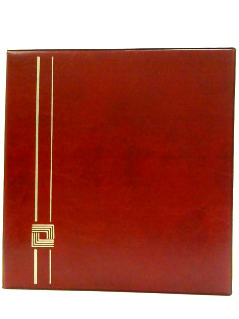 Red Photograph folder with 88 empty spaces. by Unknown
