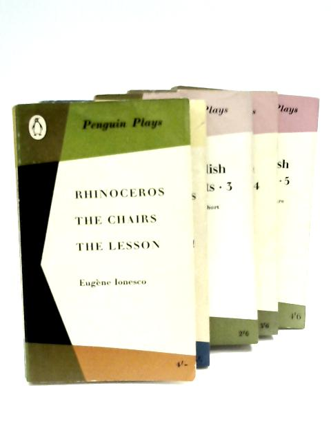 Five Book Selection of Penguin Plays by Various