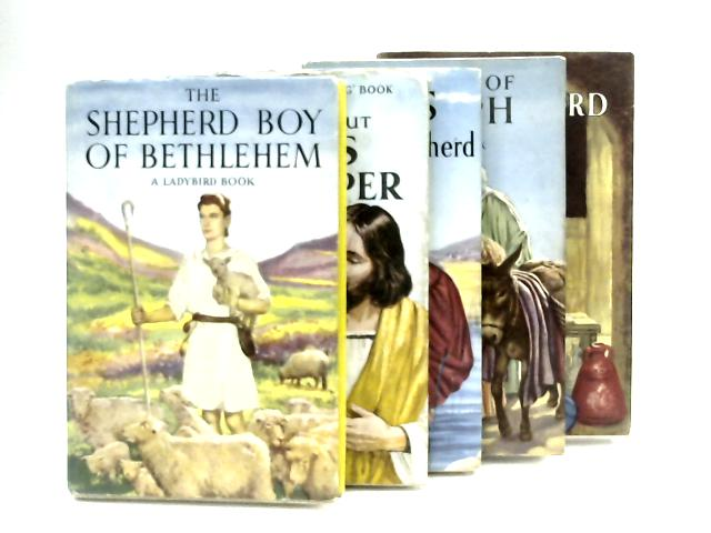 Five Book Selection of Ladybird Biblical Stories by Various