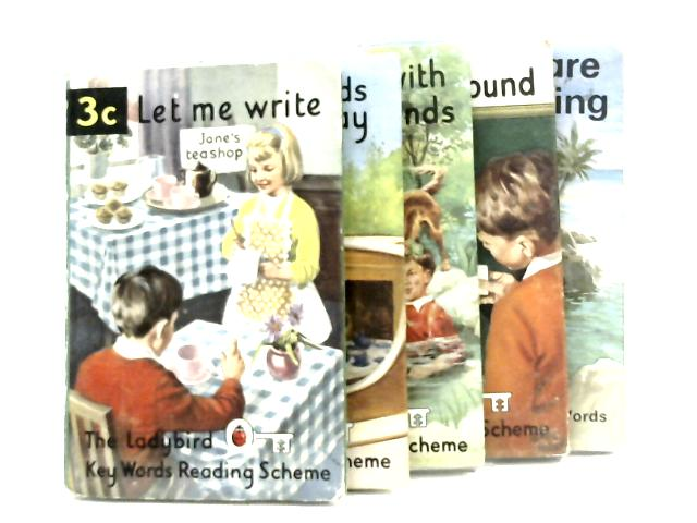 Five Book selection of The Ladybird Key Words Reading Scheme by W. Murray