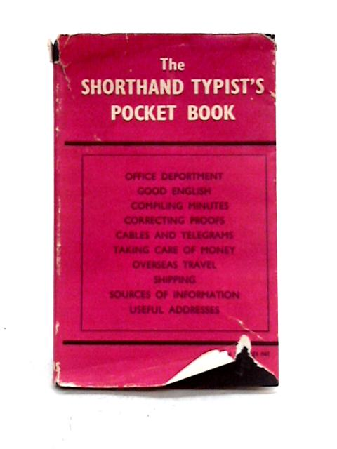 Shorthand Typists Pocket Book by C. Wallace (ed)