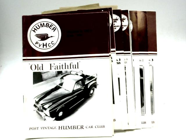 Post Vintage Humber Car Club: 'Old Faithful' Eight Magazine Collection by Alan Pond (Editor)