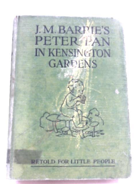 Peter Pan In Kensington Gardens J. M. Barrie 1942 Book 06702 | eBay