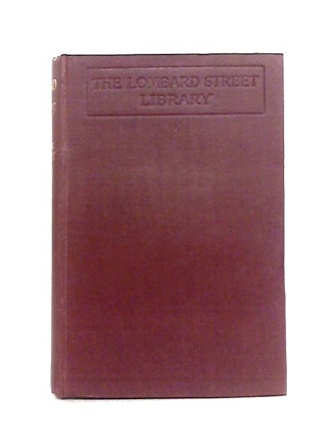 Lombard Street: A Description of the Money Market by Walter Bagehot