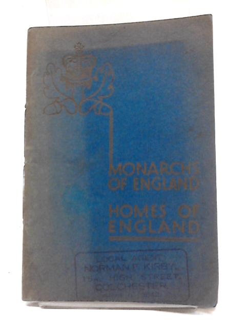 Monarchs of England, Homes of England by Halifax Building Society
