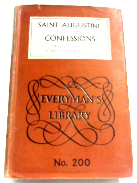The Confessions Of St Augustine by St. Augustine