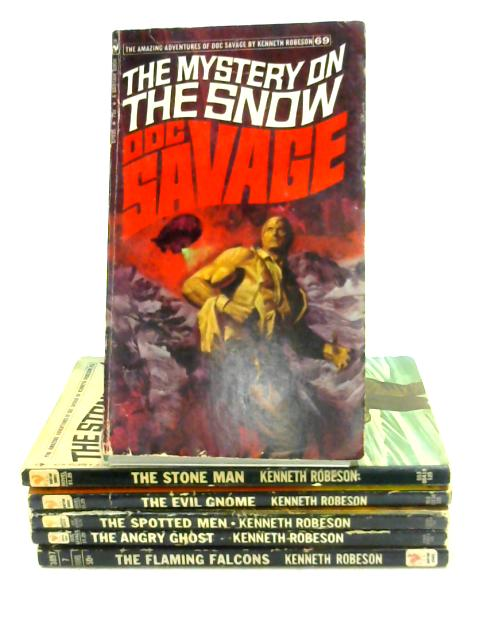 Set of 6 Doc Savage Titles by Kenneth Robeson