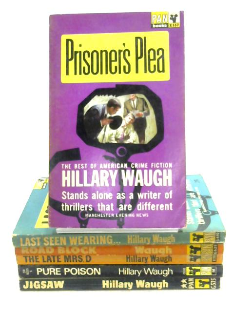 Set of 6 Hillary Waugh Titles by Hillary Waugh