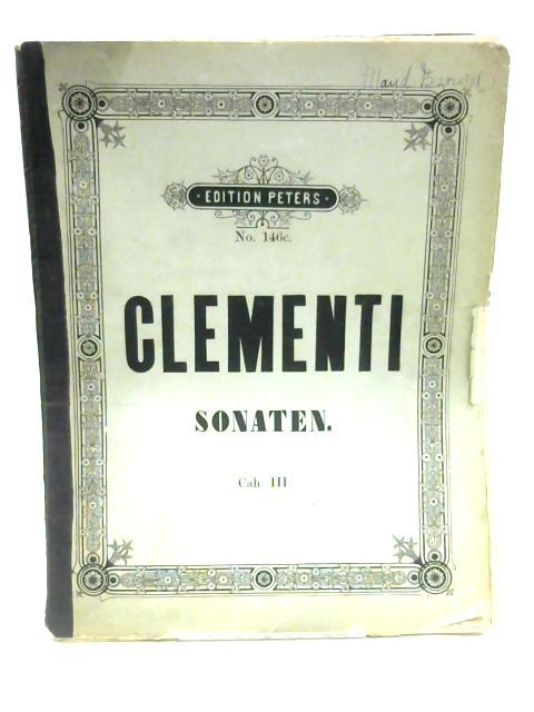 Sammlung Beruhmter Sonaten by Muzio Clementi