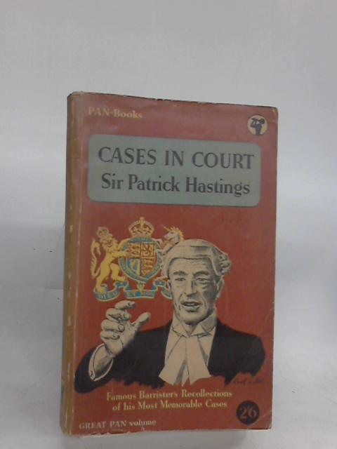 Cases In Court (Pan) by Sir Patrick Hastings