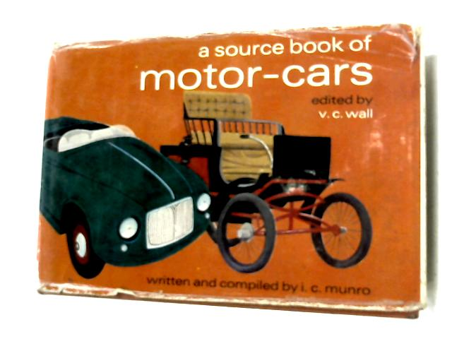 A Source Book Of Motor Cars by Colin Munro