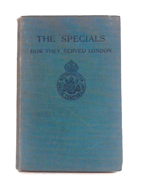 The Specials By Colonel W.T. Reay