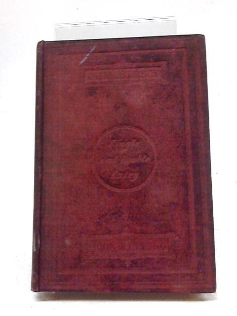 Chambers's Book-Keeping By Single And Double Entry by Inglis William