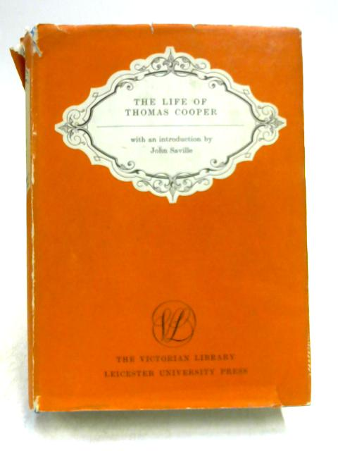 Life of Thomas Cooper by Thomas Cooper