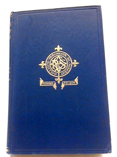 Vol.44. Hampshire Registers III: Registers & Records Of Brockhampton by Catholic Record Society