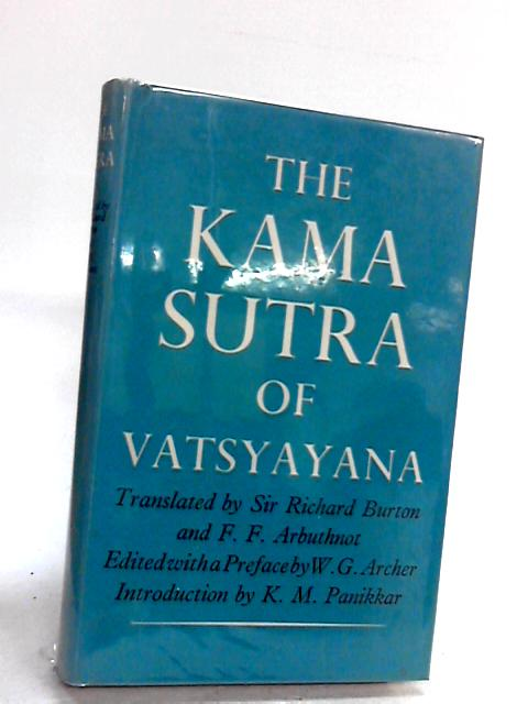 The Kama Sutra Of Vatsyayana by Burton,Richard (Translated By)