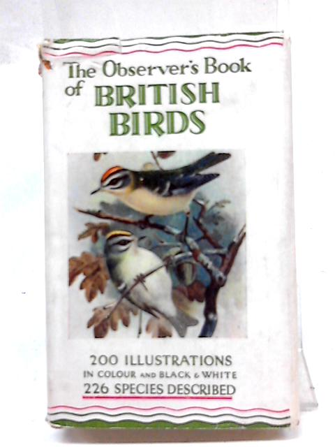 The Observer's Book Of British Birds by S. Vere Benson
