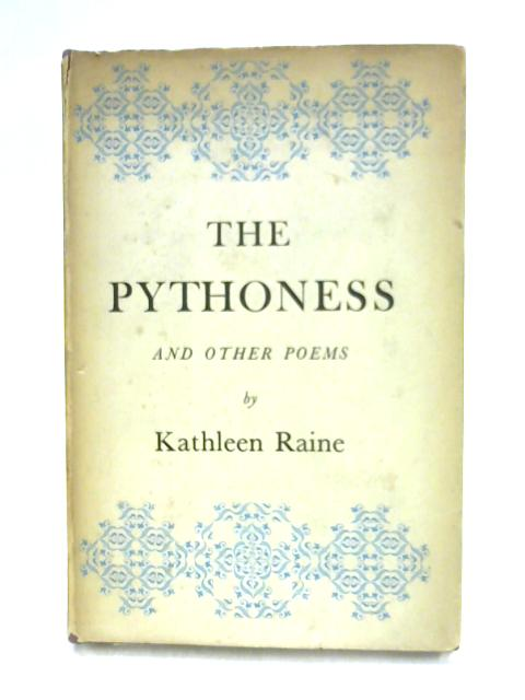 The Pythoness by Kathleen Raine