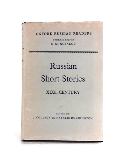 Russian Short Stories XIXth Century by Coulson And Duddington