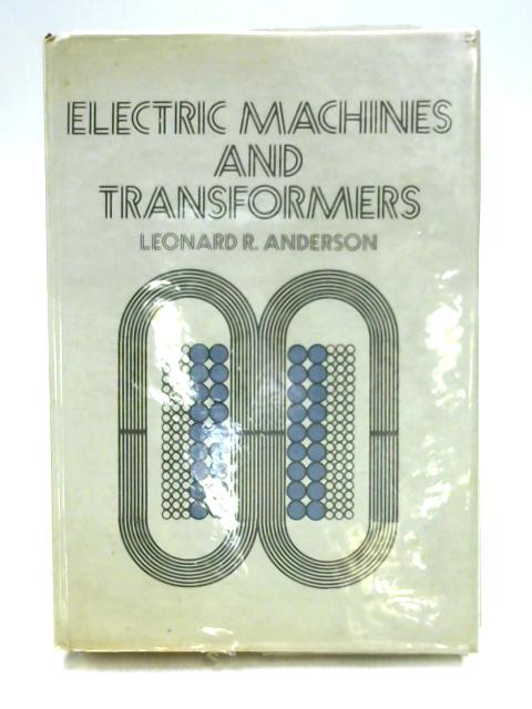 Electric Machines by Leonard Anderson