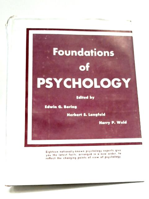Foundations Of Psychology By Various