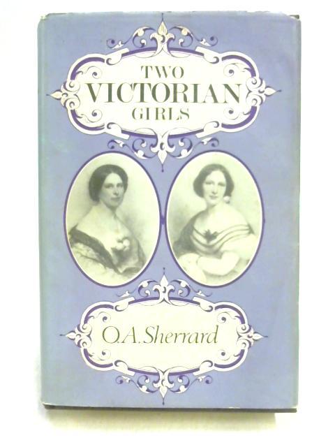 Two Victorian Girls by Owen Aubrey Sherrard