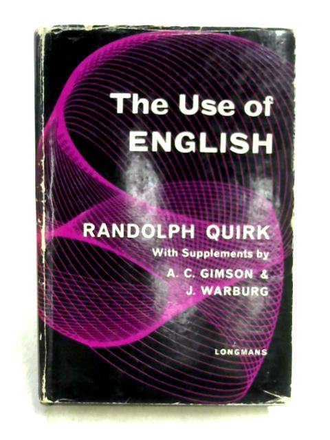 The Use of English By R. Quirk