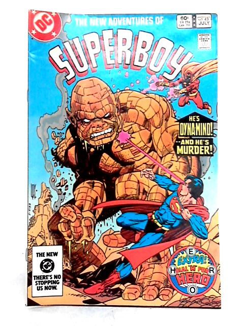 The New Adventures of Superboy Vol. 4 No. 43 by P. Kupperberg
